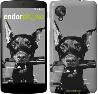 """Чехол на LG Nexus 5 Доберман """"2745c-57"""""""