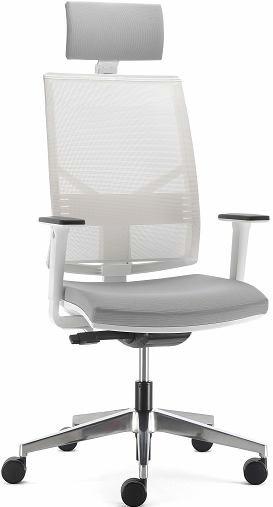 Компьютерное кресло удобное PLAY белый