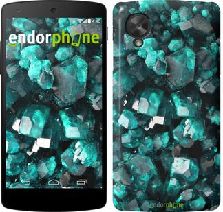"""Чехол на LG Nexus 5 Кристаллы 2 """"3674c-57"""""""