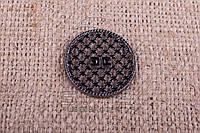 Нашивка для готовой продукции - Монетка - Y36 (200 шт/уп)