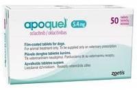 Апоквель (Apoquel) 5,4мг для собак ( 20 таблеток)