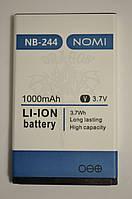Аккумулятор Nomi i244 (АКБ, Батарея) NB-244 , оригинал