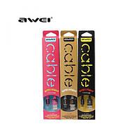 Провід для зарядки або синхронізації смартфона Usb – microusb кабель Awei CL-900