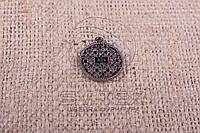Нашивка для готовой продукции - Монетка с кольцом - Y62 (500 шт/уп)