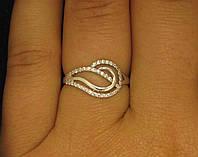 Кольцо серебро 925 проба 16 размер №214