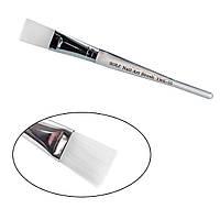 Кисть для нанесення масок прозора ручка