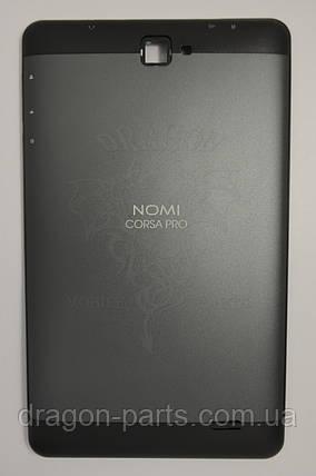 Задняя крышка (панель) Nomi C070020 Corsa Pro Черная/Black, Оригинал., фото 2