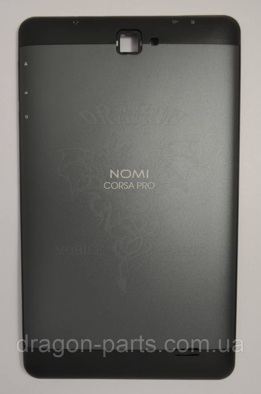 Задняя крышка (панель) Nomi C070020 Corsa Pro Черная/Black, Оригинал.