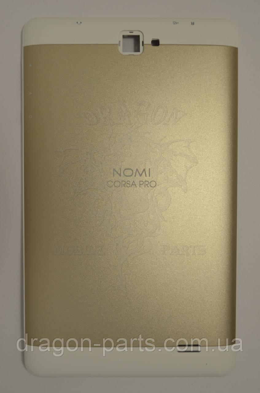 Задняя крышка (панель) Nomi C070020 Corsa Pro Золотая/Gold, Оригинал.