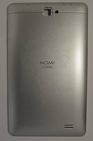 Задняя крышка (панель) Nomi C070010 Corsa Серебряная/Silver, Оригинал.