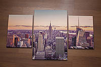 "Модульная картина ""Нью Йорк""."