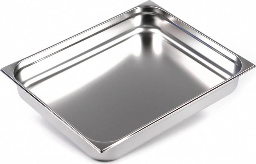 Гастроемкость GN 2/1-100 мм. нержавеющая сталь Presto Ware