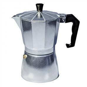 Гейзерная кофеварка Con Brio СВ6109 ,9 порций,450мл,серебро, фото 2