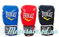 Перчатки боксерские Elast 3987 на липучке, 3 цвета: 8-12 унций (кожвинил)