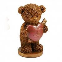 Подарок на 14 февраля. Мишка с сердцем, фото 1