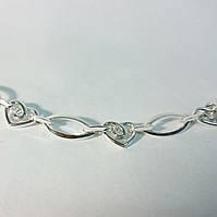 Серебряный браслет, фото 1