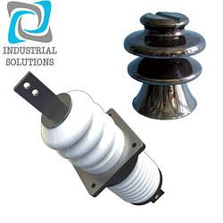 Изоляторы высоковольтные фарфоровые для линий электропередач
