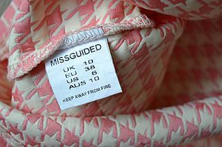 Юбка в принт гусиная лапка Missguided, фото 3