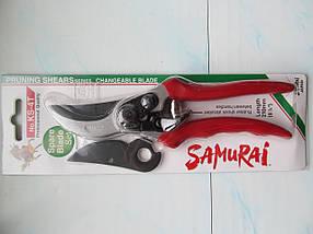 Секатор Samurai c запасным лезвием с тефлоновым покрытием (2 предмета), фото 2