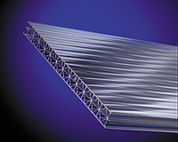 Поликарбонат сотовый 2,1*6м 8 мм прозрачный OSCAR, фото 1