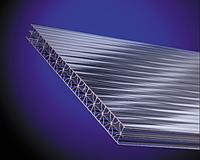Поликарбонат сотовый OSCAR 4 мм прозрачный
