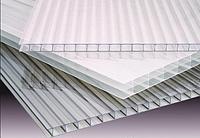 Поликарбонат сотовый Ekopol 8 мм прозрачный 2,1*6 м(12,6м2), фото 1