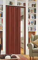 Двери-гармошки Melody Махагон  2030х820 мм