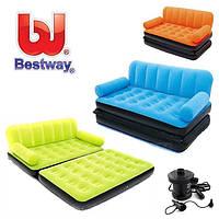 Надувний диван з електро насосом Bestway 67356