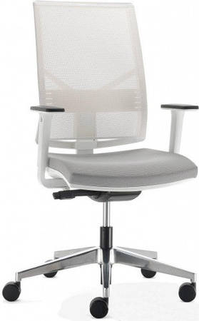 Кресло офисное спинка сетка PLAY white