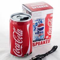Портативная колонка Coca-Cola (MP3 плеер, FM радио)
