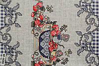 Скатерть-клеенка столовая с орнаментом в рулонах оптом