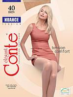 Колготки женские Conte NUANCE 40 den (р.2,3,4,5,6)