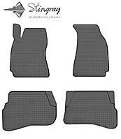 Коврики салона автомобильные Фольксваген В5 1997- Комплект из 4-х ковриков Черный в салон. Доставка по всей Украине. Оплата при получении