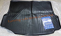 Коврик в багажник из полиуретана Novline на Mitsubishi Lancer 10 2007-2016 хэтчбек