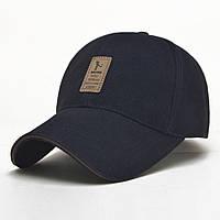 Мужская брендовая бейсболка (бейс) Ediko, стильная и модная. Темно-синяя.
