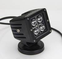 Светодиодные фары 12W 14-12 дальний свет, фото 1