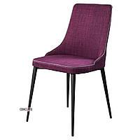 Стул мягкий обеденный ELEGANCE (Элеганс) фиолетовый