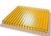 Поликарбонат сотовый OSCAR 4 мм Желтый, фото 1