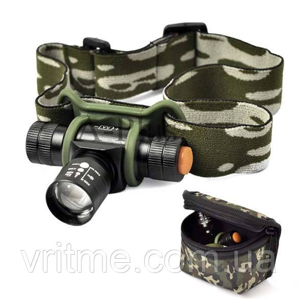 Налобный фонарик Bailong BL-6660 6000w