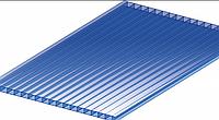 Поликарбонат сотовый OSCAR 4 мм Синий