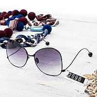 Женские брендовые очки Шанель Chanel черные