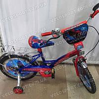 Детский велосипед Mustang Человек Паук 18 дюймов