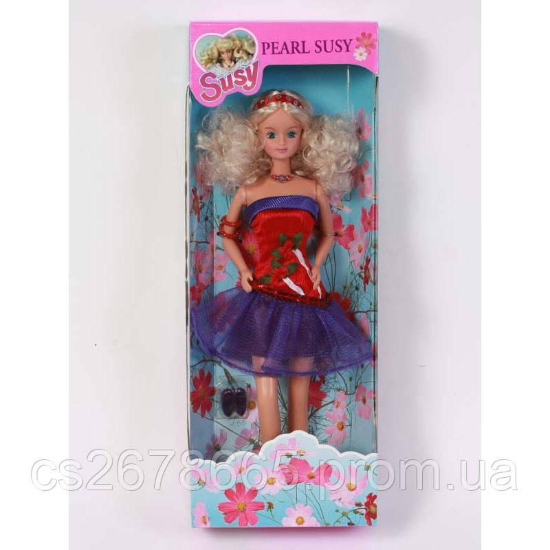 """Кукла Сюзи """"Жемчужина"""" 2127WBX блондинка"""