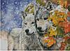 """Набор для вышивания """"Снежные волки"""""""