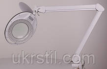 Настольная лампа-лупа LS-6027 LED,3 диоптрии, 9W
