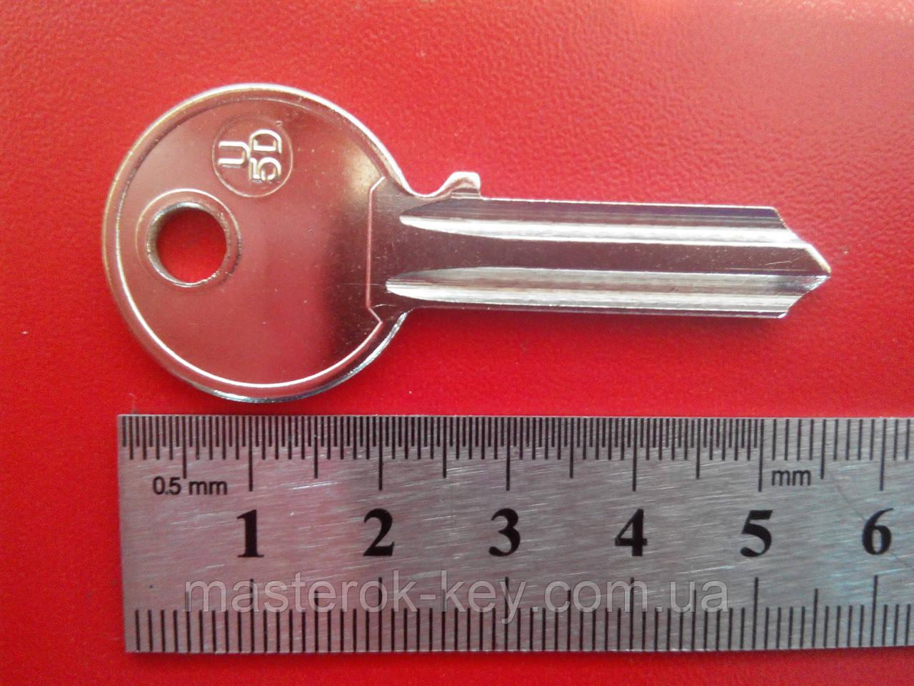 Заготовка ключа U-5D, 2мм