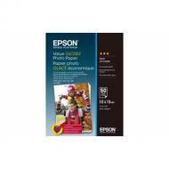 Бумага для фотопринтера Epson 100mmx150mm Value Glossy 50 л. (C13S400038)