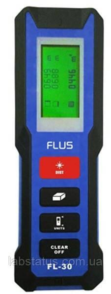 Лазерний далекомір FLUS FL-30 (рулетка 30 метрів)