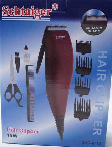 Машинка для стрижки волос Schtaiger SHG-4712 с керамо лезвиями