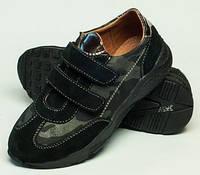 Кроссовки кожаные, спортивная обувь для мальчиков 32-39, спортивная обувь от производителя модель ДЖ-3734